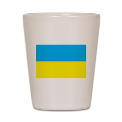 Ukraine Flag Shot Glass
