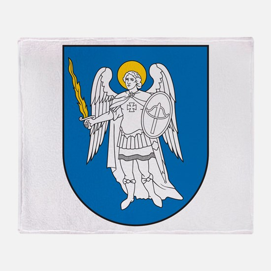 Kiev Coat Of Arms Throw Blanket