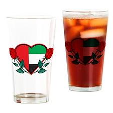 Heart UAE Pint Glass