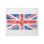 Vintage United Kingdom Throw Blanket