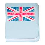 Vintage United Kingdom baby blanket