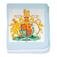 United Kingdom Coat Of Arms baby blanket