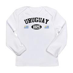 Uruguay 1825 Long Sleeve Infant T-Shirt