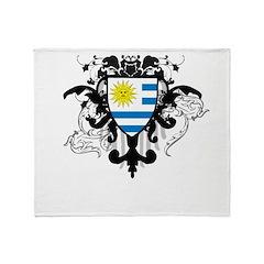 Stylish Uruguay Throw Blanket