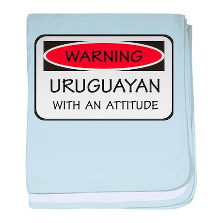 Attitude Uruguayan baby blanket