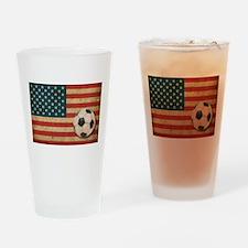 USA Soccer Pint Glass