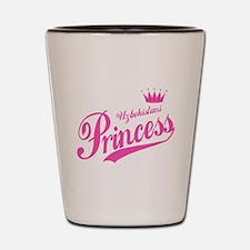 Uzbekistani Princess Shot Glass