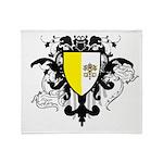 Stylish Vatican City Throw Blanket
