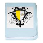 Stylish Vatican City baby blanket