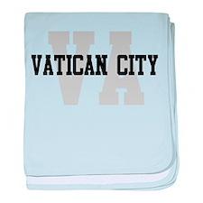 VA Vatican City baby blanket