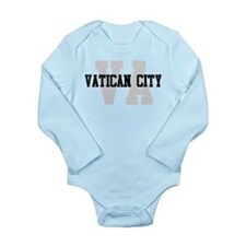 VA Vatican City Long Sleeve Infant Bodysuit