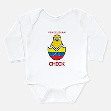 Venezuelan Chick Long Sleeve Infant Bodysuit