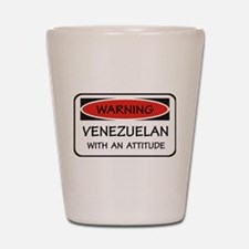 Attitude Venezuelan Shot Glass