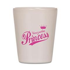 Princess Venezuelan Shot Glass