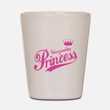 Princess Venezuelan Shot Glass