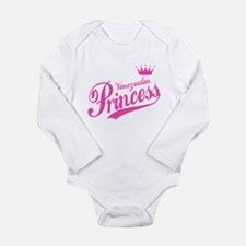 Princess Venezuelan Long Sleeve Infant Bodysuit