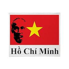 Ho Chi Minh Throw Blanket