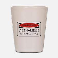 Attitude Vietnamese Shot Glass