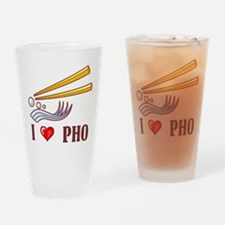 I Love Pho Pint Glass