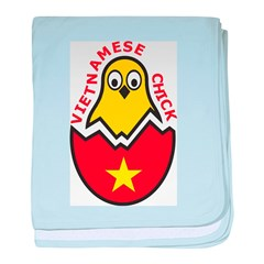Vietnamese Chick baby blanket