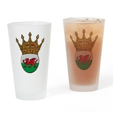 King Of Wales Pint Glass