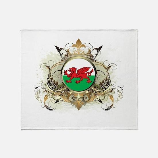 Stylish Wales Throw Blanket