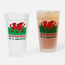Cymru Pint Glass