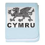 Vintage Cymru baby blanket