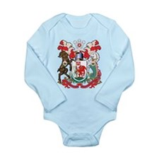 Cardiff Coat Of Arms Long Sleeve Infant Bodysuit