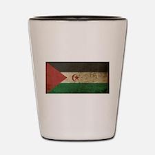 Vintage Western Sahara Shot Glass