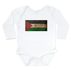 Vintage Western Sahara Long Sleeve Infant Bodysuit