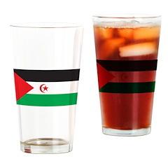 Western Sahara Flag Pint Glass