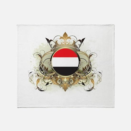 Stylish Yemen Throw Blanket