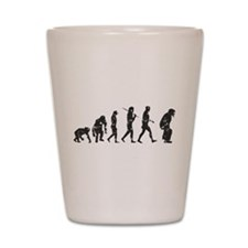 Evolution Umpire Shot Glass