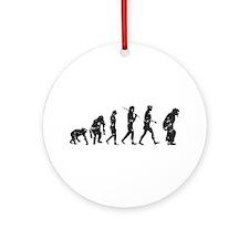 Evolution Umpire Ornament (Round)
