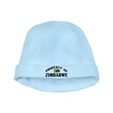 Property Of Zimbabwe baby hat