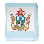 Zimbabwe Coat Of Arms baby blanket