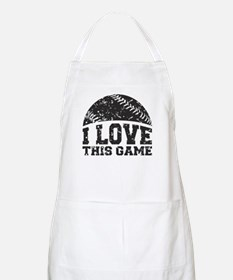I Love This Game Apron
