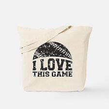 I Love This Game Tote Bag