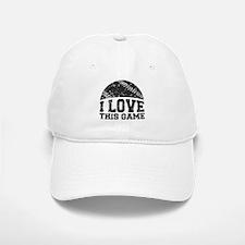 I Love This Game Baseball Baseball Cap