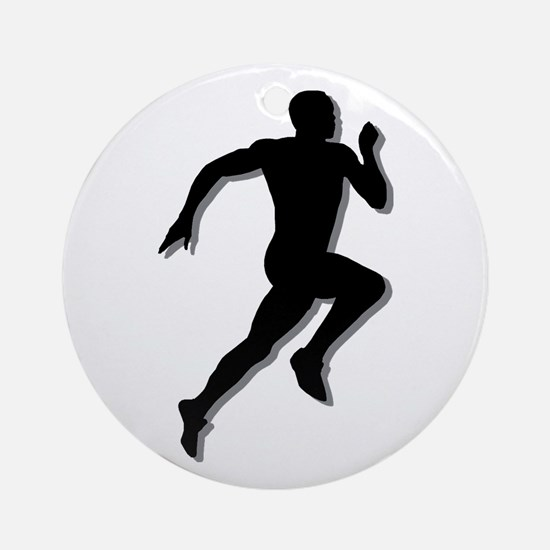 The Runner Ornament (Round)