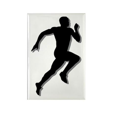 The Runner Rectangle Magnet (10 pack)