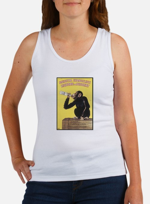 Drinking Monkey Women's Tank Top
