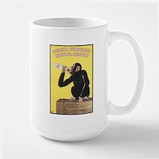 Drinking Monkey Large Mug