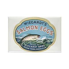 Salmon Eggs Rectangle Magnet (100 pack)