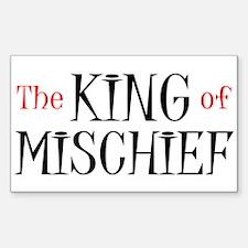 King of Mischief Decal