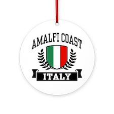 Amalfi Coast Italy Ornament (Round)