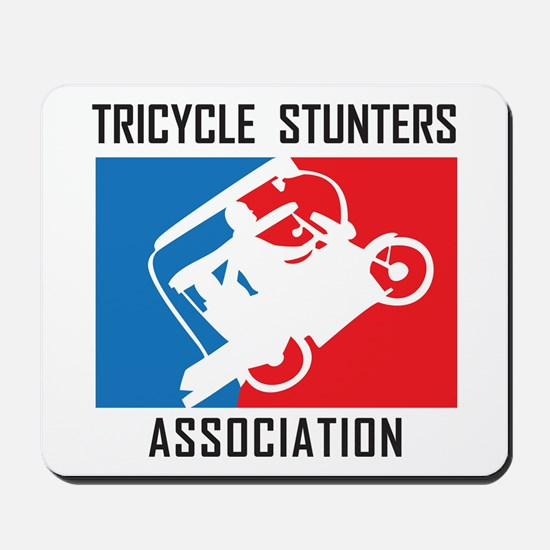 Tricycle Stunters Association Mousepad