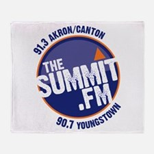 Cute 90.7 summit Throw Blanket