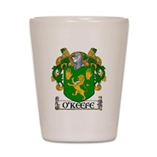 O'Keefe Coat of Arms Shot Glass